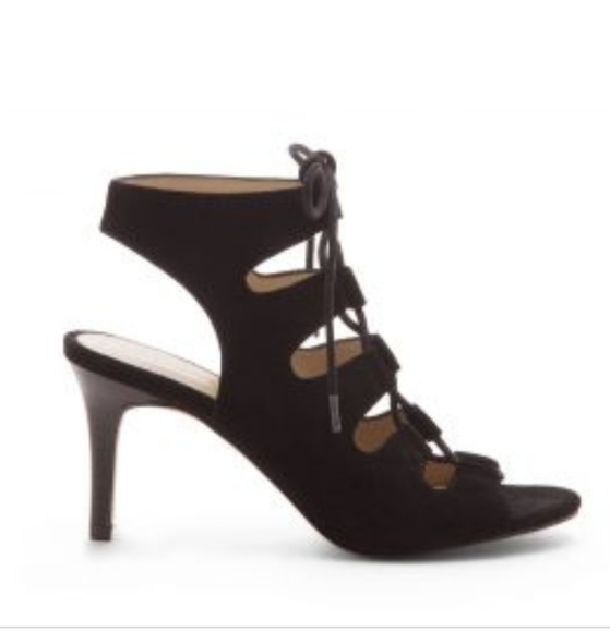 Sole Society Shoes - Sole Society black suede sz6 suede heels